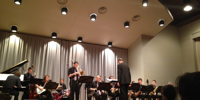From vocals to scales, jazzy tunes fill Rosse Hall