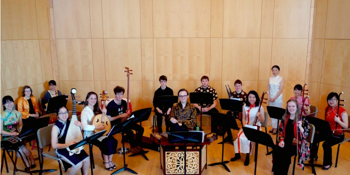 Kenyon students say ni hao to Chinese music in Brandi