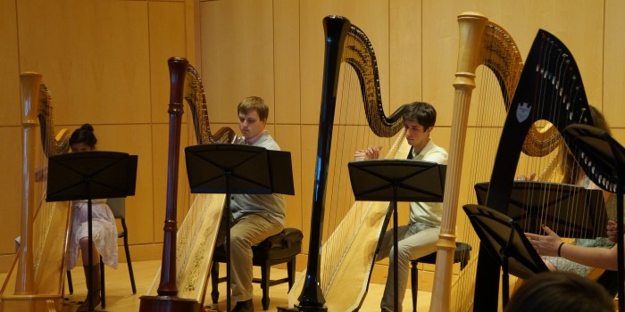 "Flutists and harpists impress in joint ""Flarp"" concert"