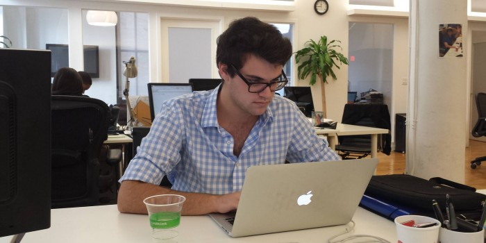 Former Kenyon student joins technology start up in New York