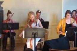 Playing the pipa: Chinese Music Ensemble debuts
