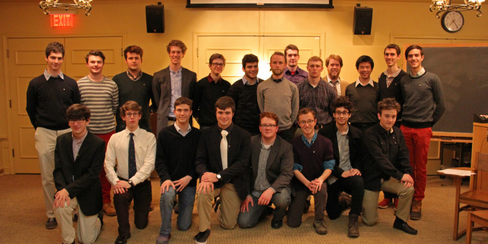 Phi Taus take the next step — chartering