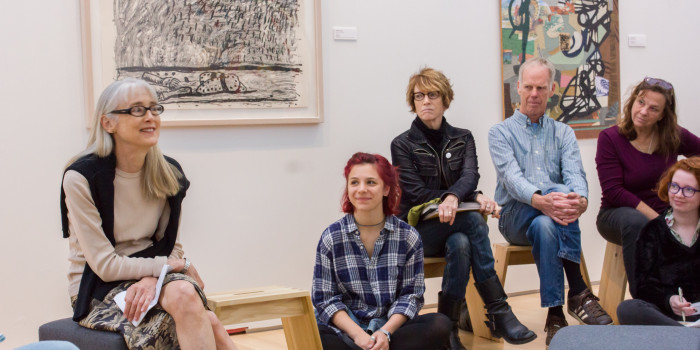 Curator speaks on the artistry of postgrad employment