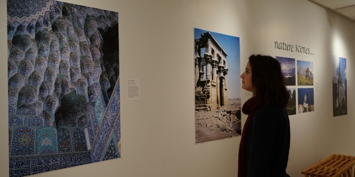 Professor's Mideast photos find new timeliness in show