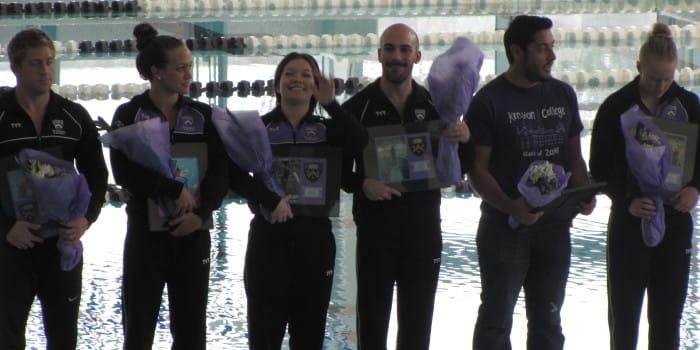 Swim squads dominate Wittenberg and OWU