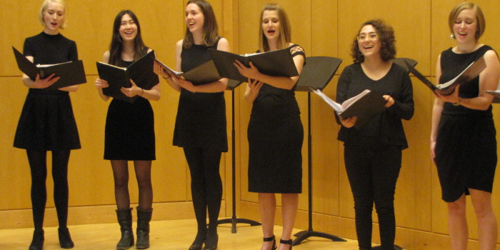 Alumnae-founded La Caccina performs with flair