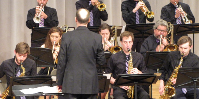 Jazz Ensemble concludes year with an off-beat flourish