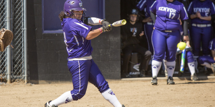 First years help Ladies sweep Oberlin in doubleheader