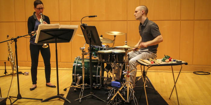 Duo Patchwork experiments with classical music