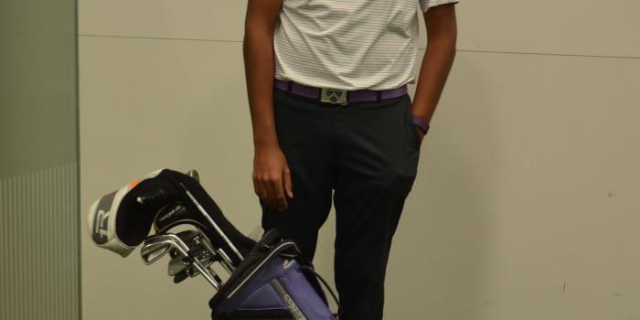 Globetrotting golfer takes clubs to United Arab Emirates