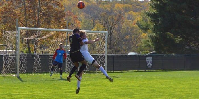 Wynn sinks second game-winner for men's soccer