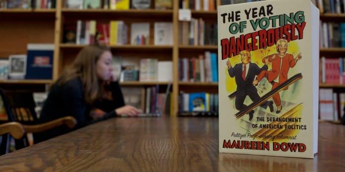 New York Times columnist Maureen Dowd to visit campus