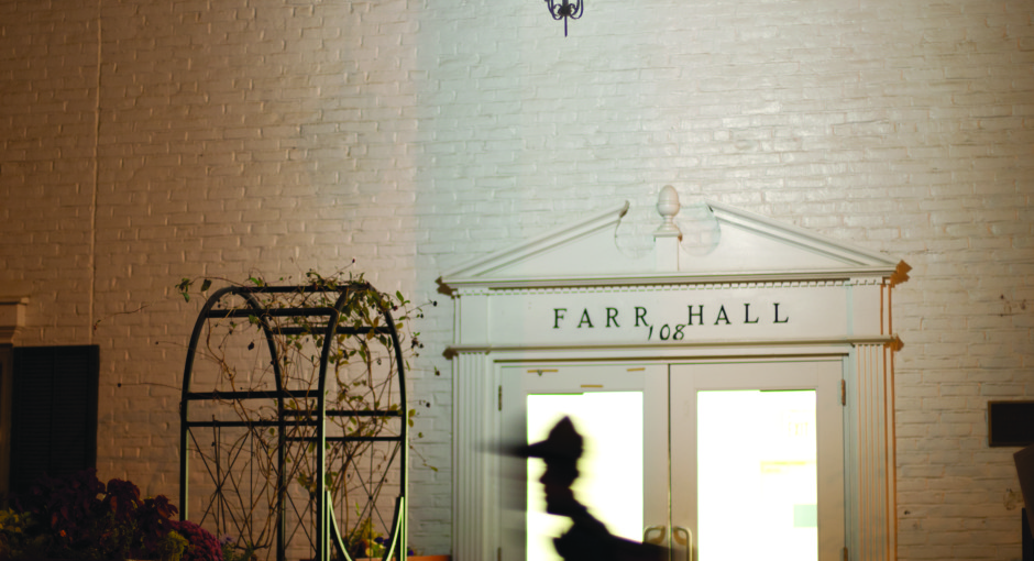Farr Hall theft raises new concerns about crime  on Kenyon's campus