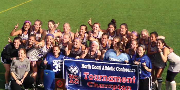 Kenyon field hockey snags NCAC title