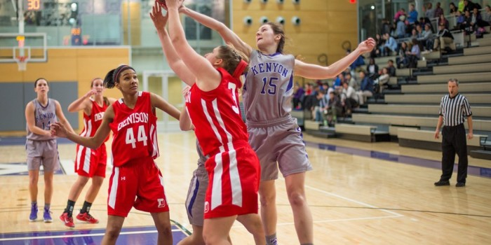 Ladies basketball looks to level with rivals DePauw, Denison