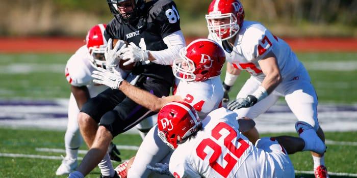 Lords quarterback Merkle sets Kenyon record on Senior Day