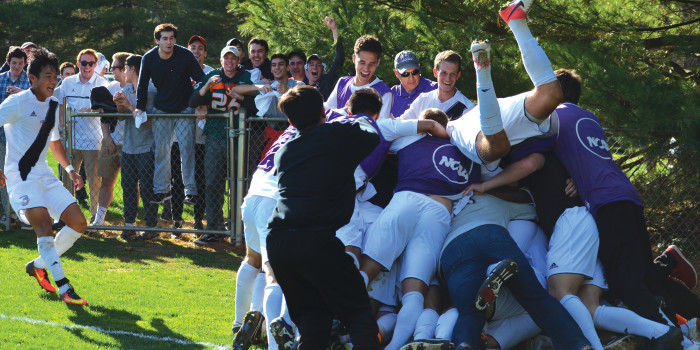 Kenyon brings NCAC men's soccer championship to Mavec one more time