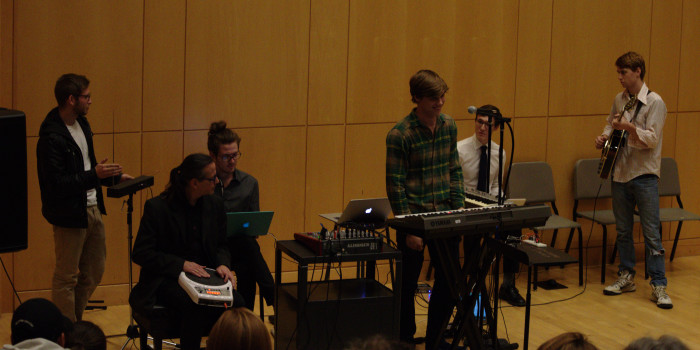 The machines rise again with the Kenyon Laptop Orchestra