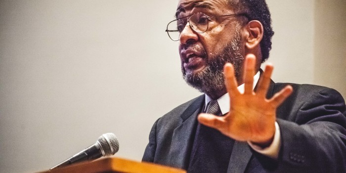 In MLK address, civil rights activist Cleveland Sellers implores students to stay strong in contentious times