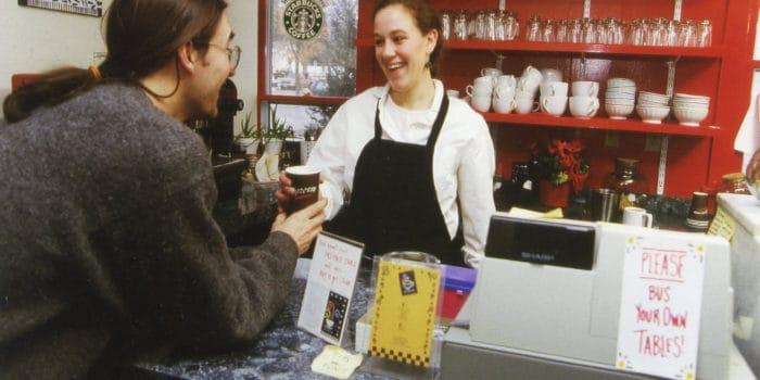 Before Wiggin Street Coffee, what was 101 E. Wiggin Street?