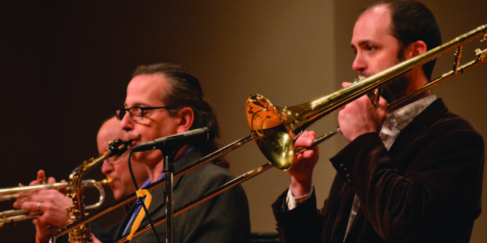 Kenyon Faculty Jazz Combo performs in on-campus debut