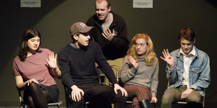 Black Box theater grand opening event brings lots of laughs