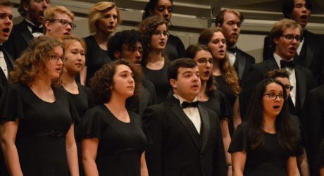 Chamber Singers master complex music in Saturday concert