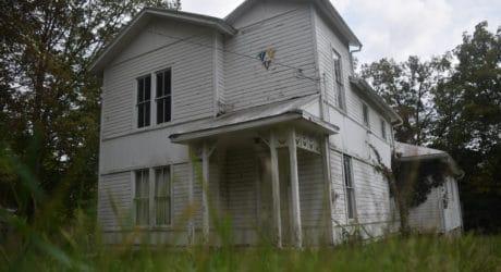 Abandoned lodge houses memorabilia of extinct fraternity
